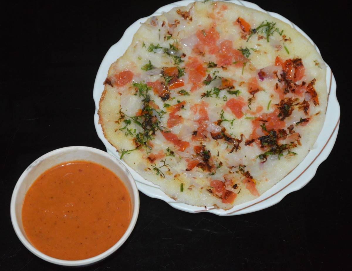 Serve with dosa, idli, or cooked rice. Enjoy the taste!