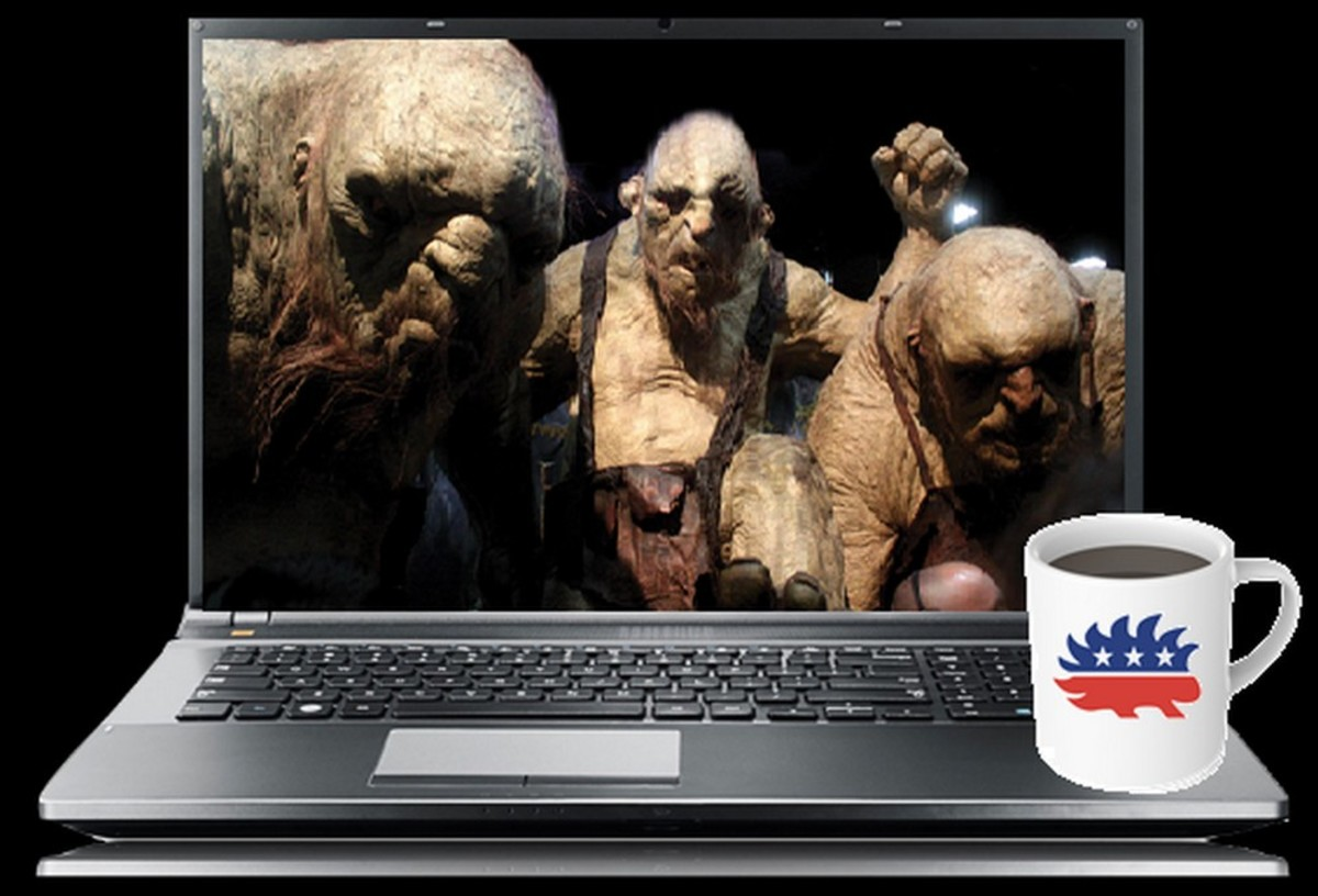 A Libertarian Guide for Dealing with Online Trolls and True Believers