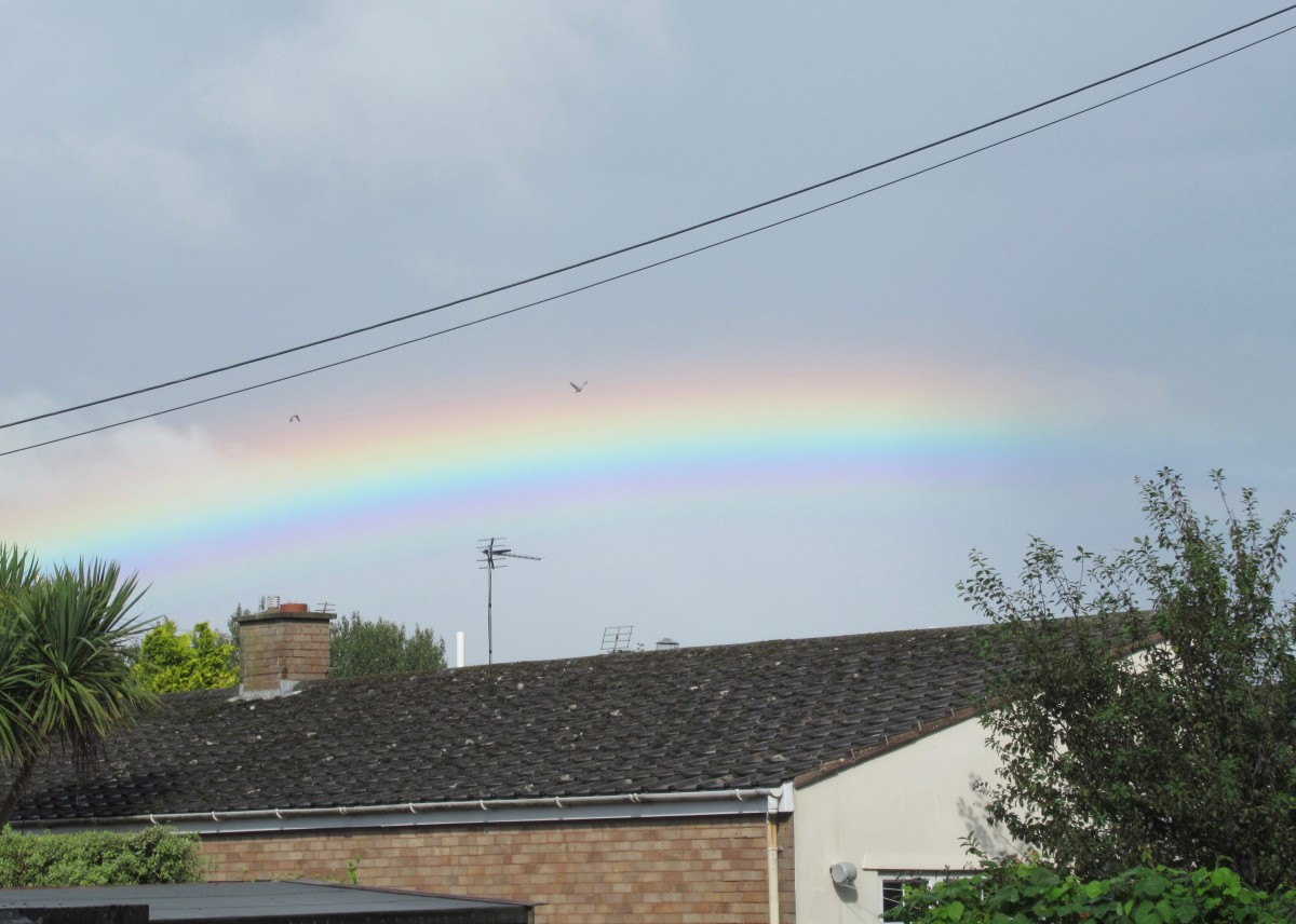 Rainbow Promise that all's well