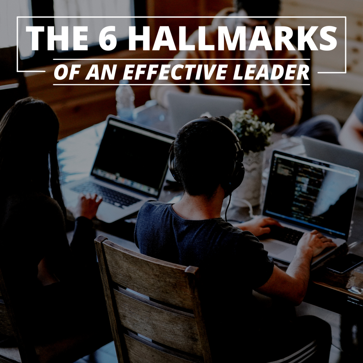 What do almost all great team leaders have in common?