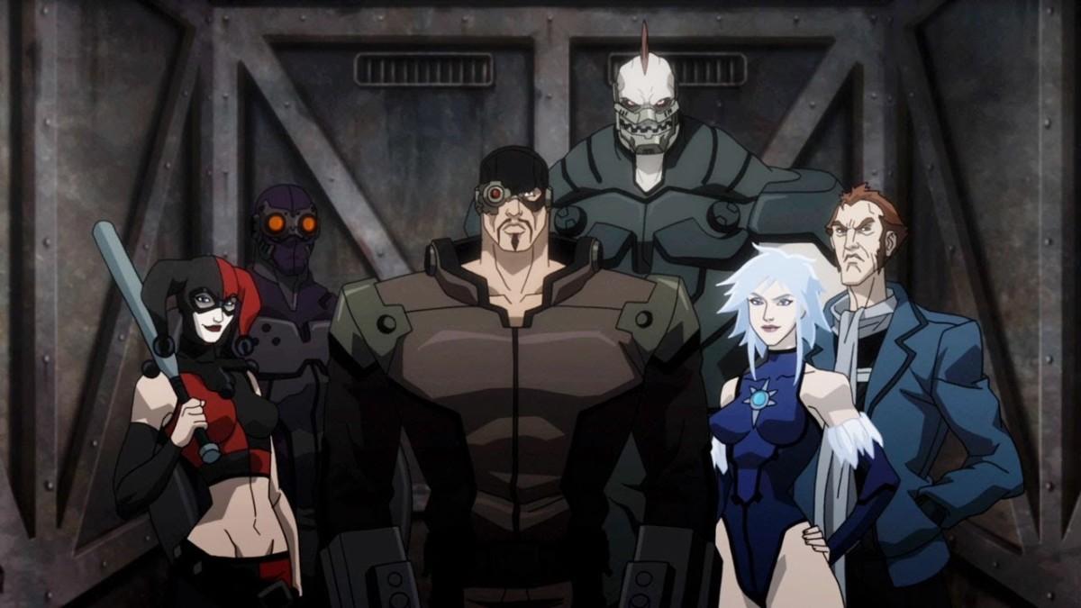 The Suicide Squad preparing to infiltrate Arkham Asylum.