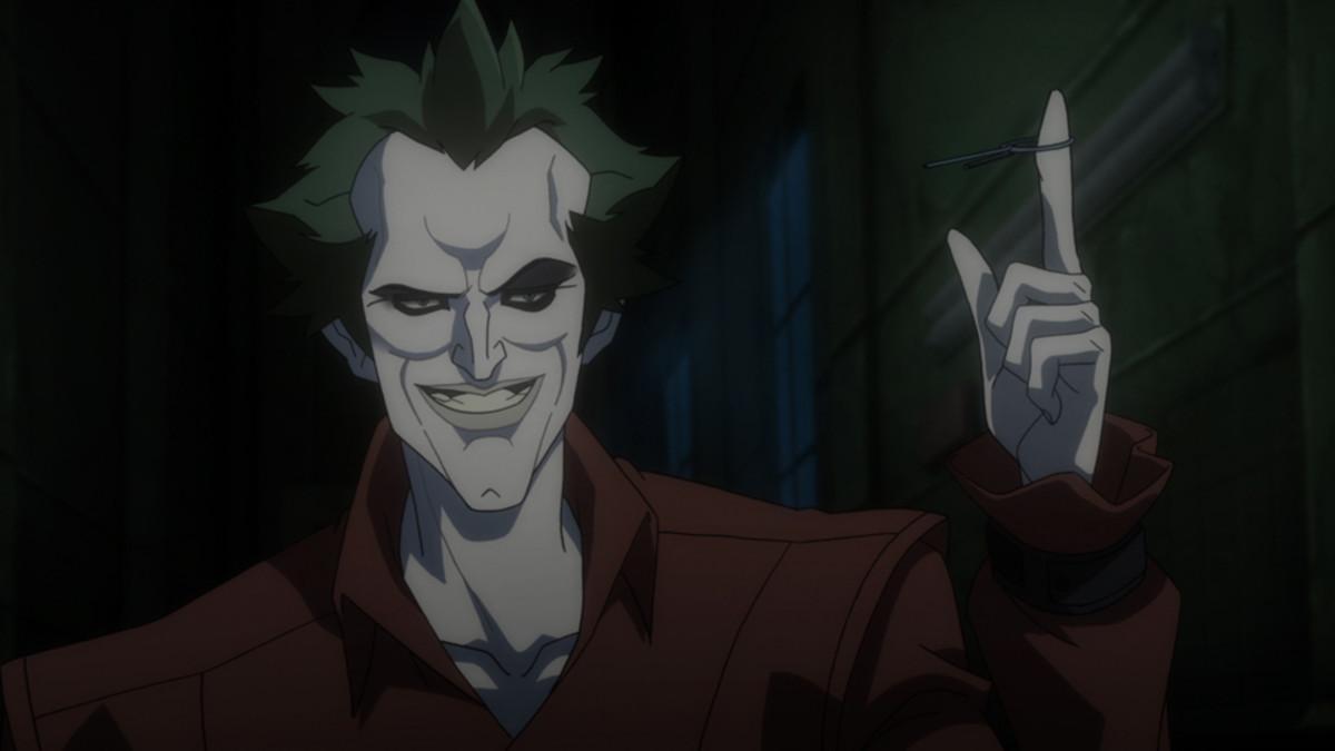 The Joker in Arkham Asylum.