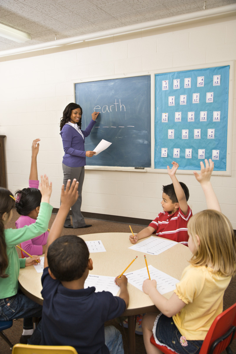 In Direct Teaching, the teacher is always at the forefront of the classroom and is in a position to observe the entire environment.