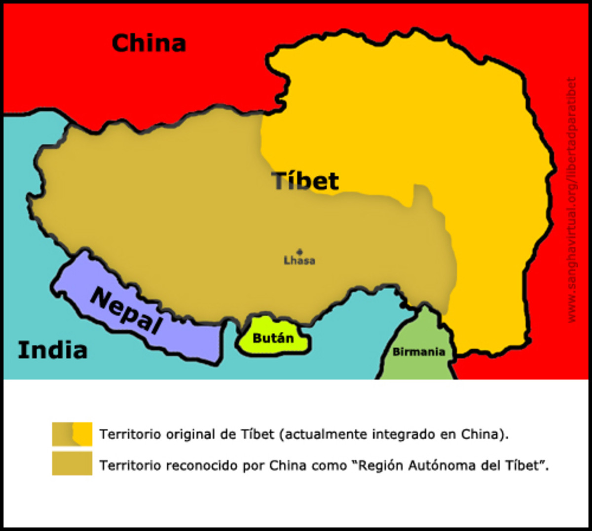 How the Tibetan Race Originated