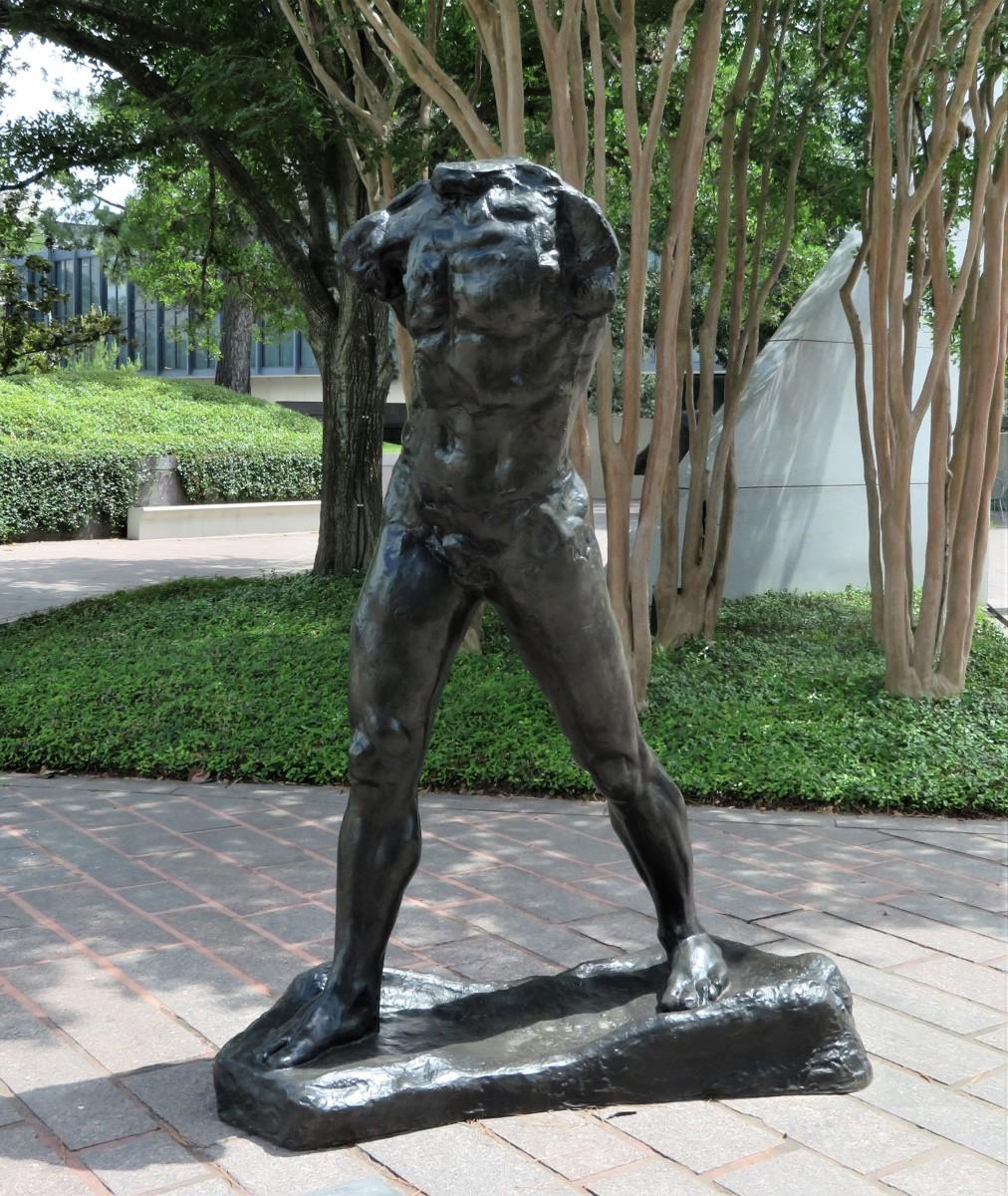 The Walking Man by Auguste Rodin