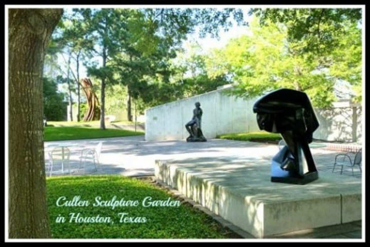 View the Amazing Cullen Sculpture Garden in Houston in Photos