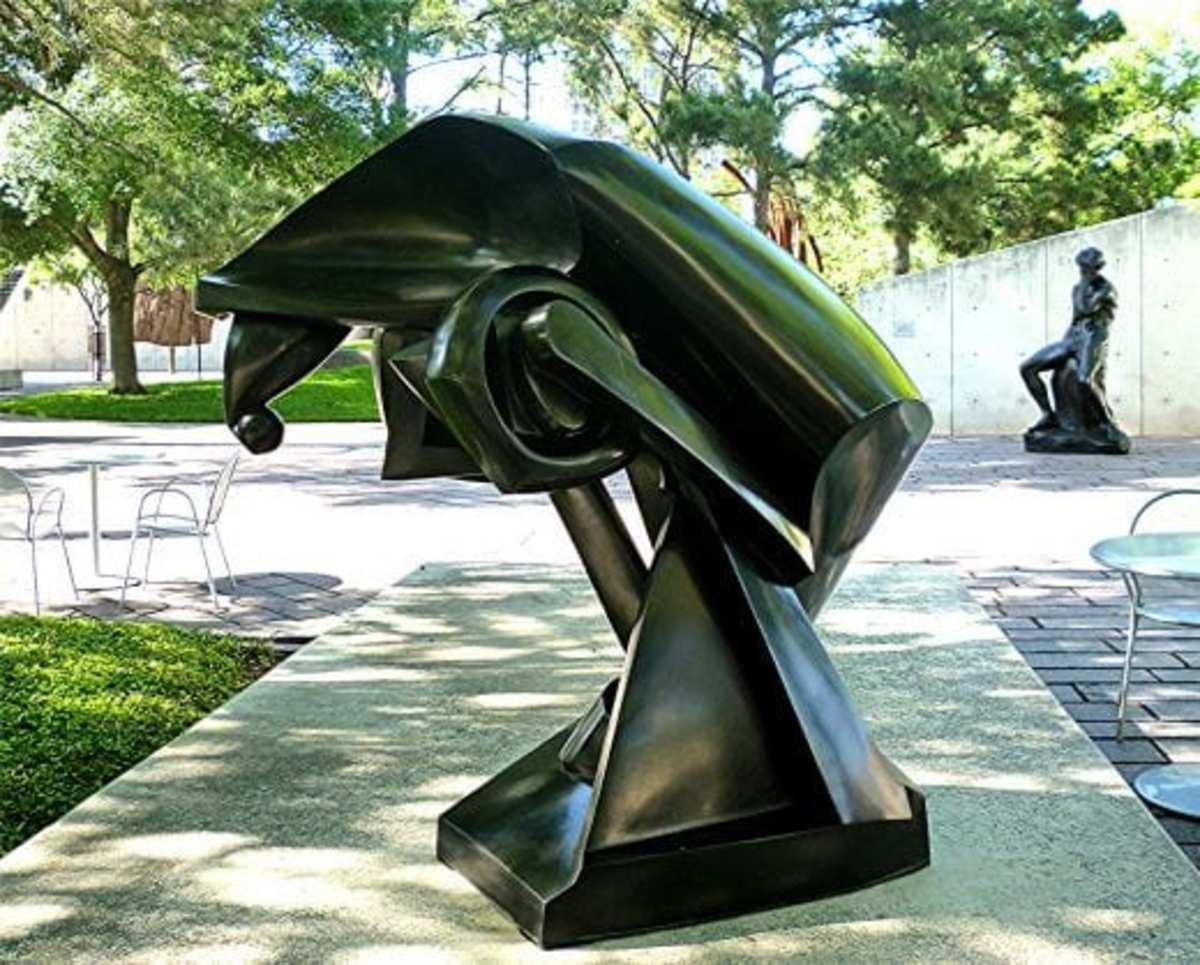 The Large Horse by Raymond Duchamp Villon