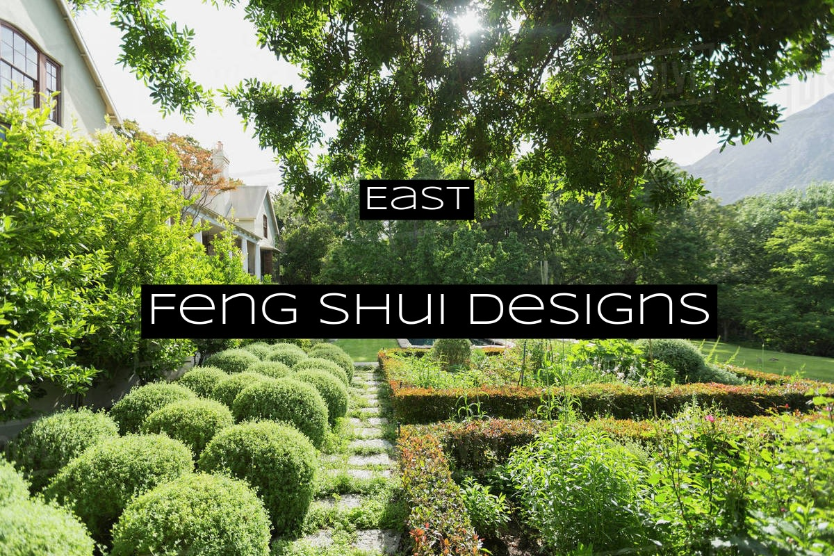 The East should be vibrant green all year long. Add evergreens to keep the green in fall and winter.