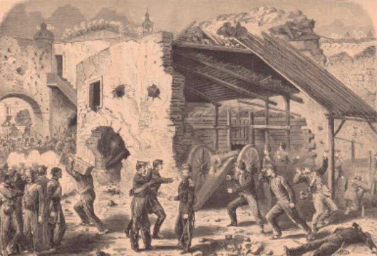 Spanish Guerrillas Raid French Territory