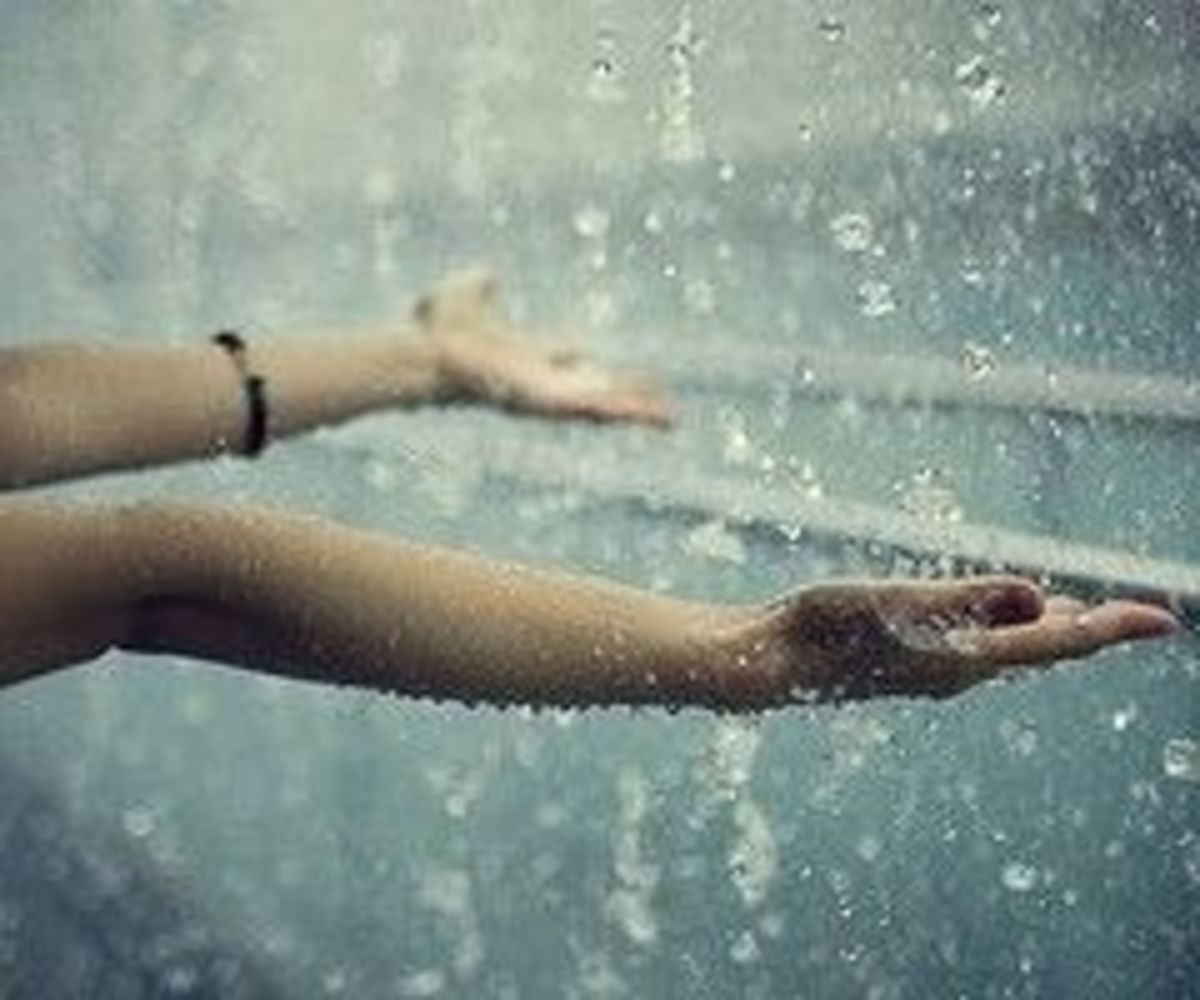 Some people feel the rain, others get wet- Bob Marley