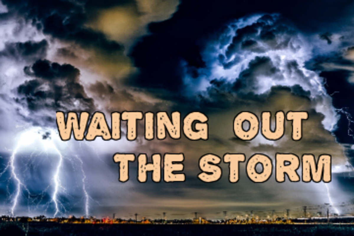 word-prompts-raindrops-from-heaven-waiting-out-the-storm