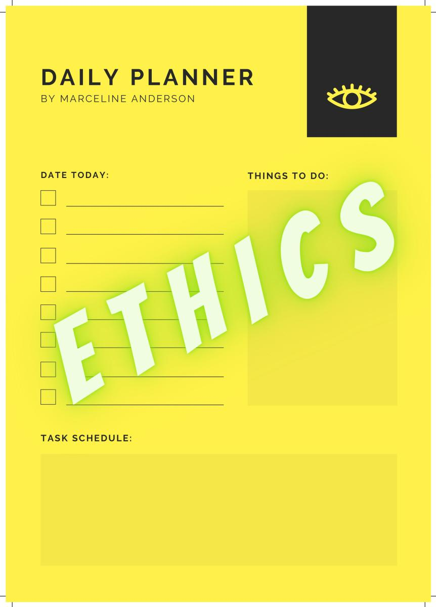 What Do You Mean By Ethics