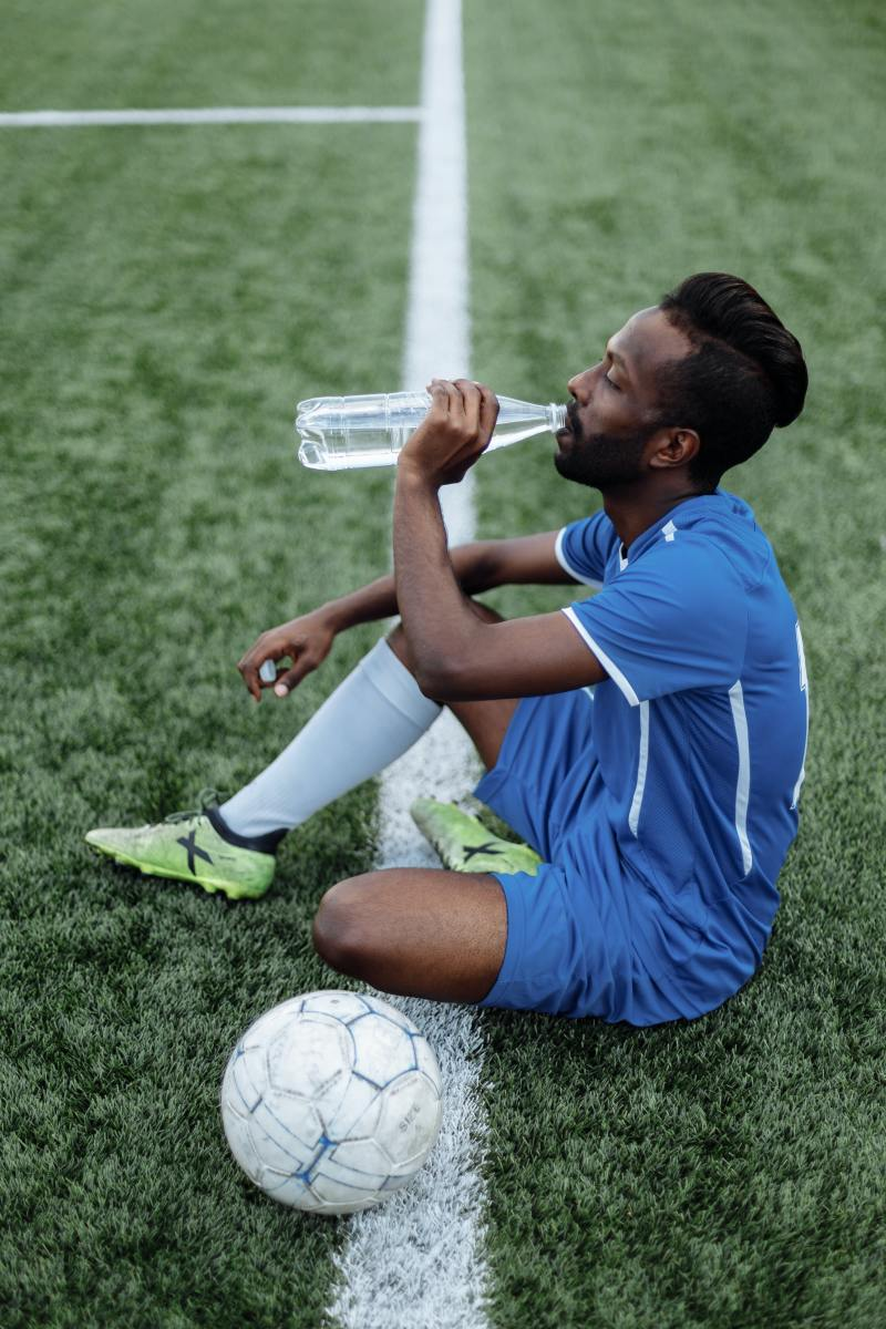 water is important for player for reducing dehydration.