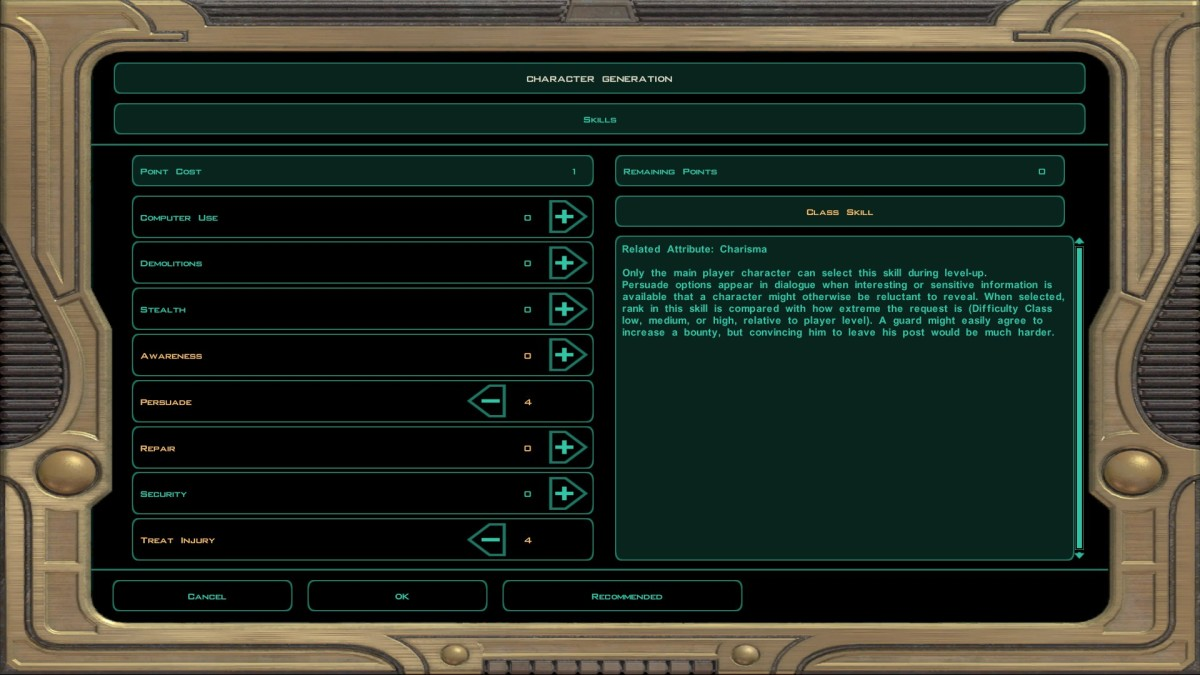 The best build is highly dependent upon companions for skills like security, demolitions, computer use, etc.