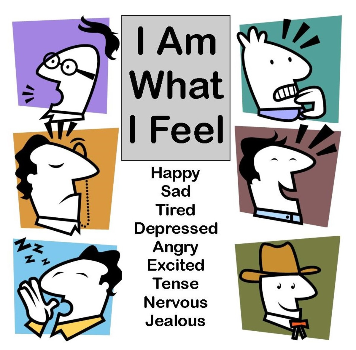 When we base our identity on how we feel, we are always having to adjust, since our feelings change frequently depending upon what we are thinking.