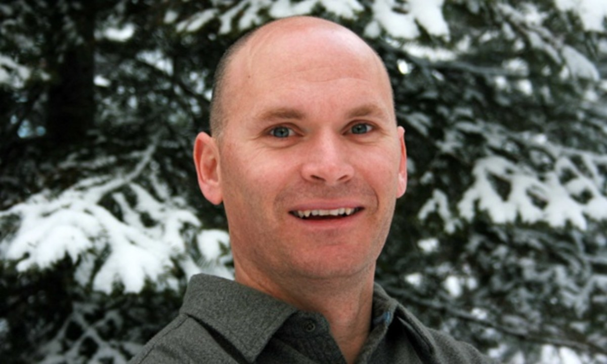 Anthony Doerr, winner of the 2015 Pulitzer Prize for his novel, All the Light We Cannot See