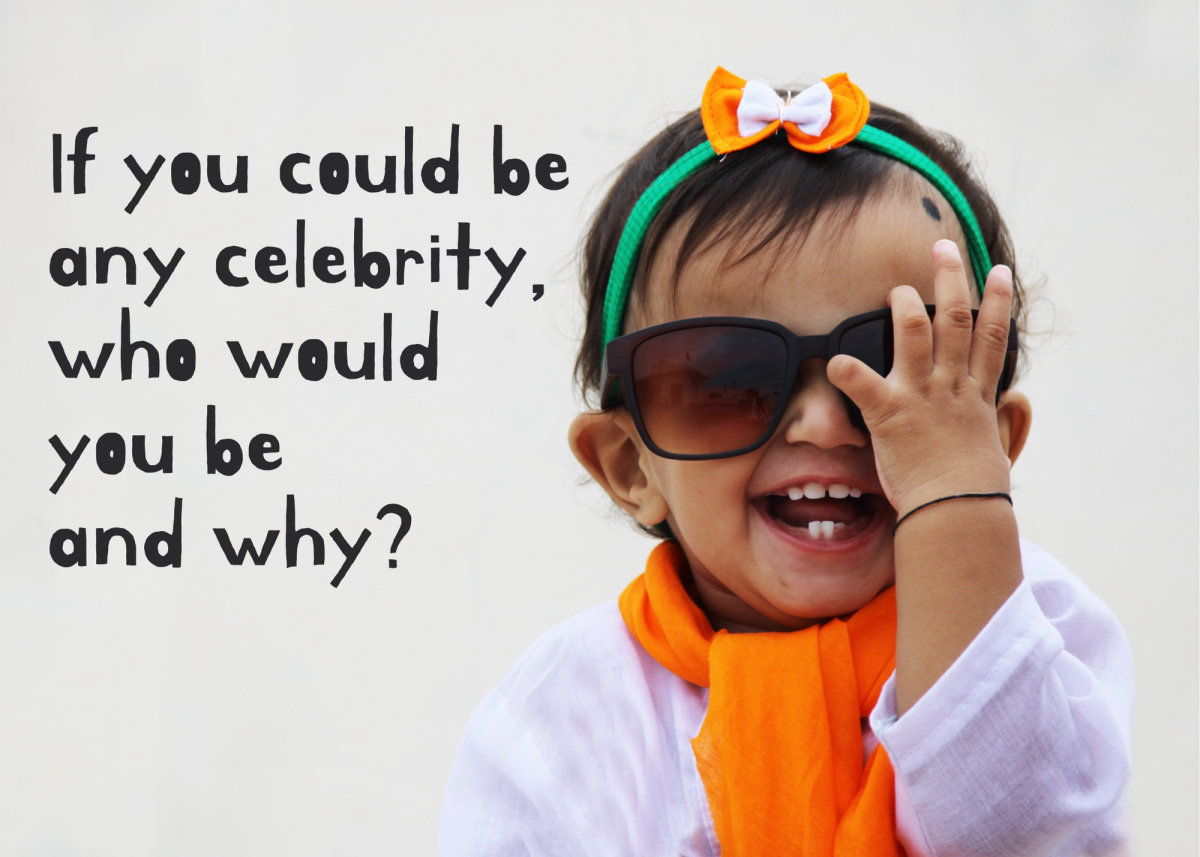 Do you see yourself walking the red carpet, winning the big game, selling out concert tickets, or something else?