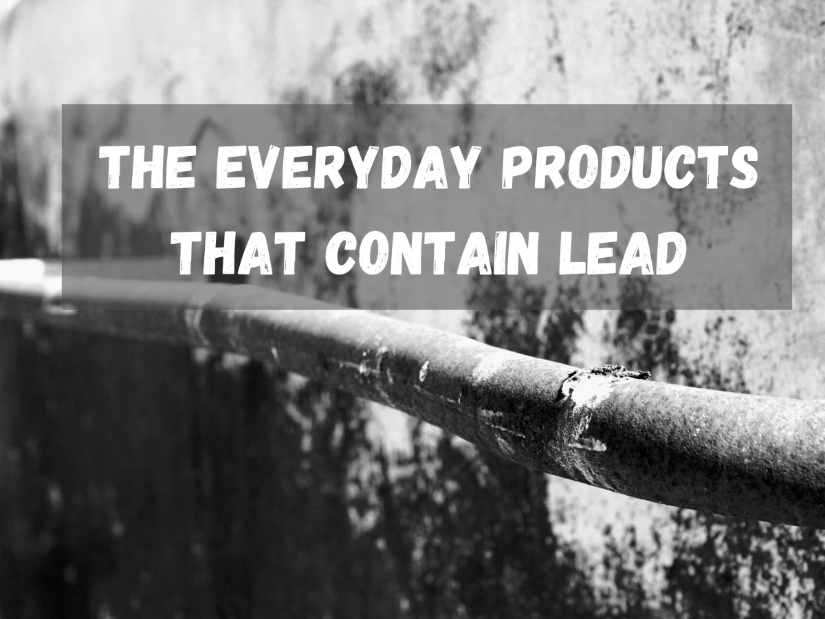 Lead and the Everyday Products That Have It