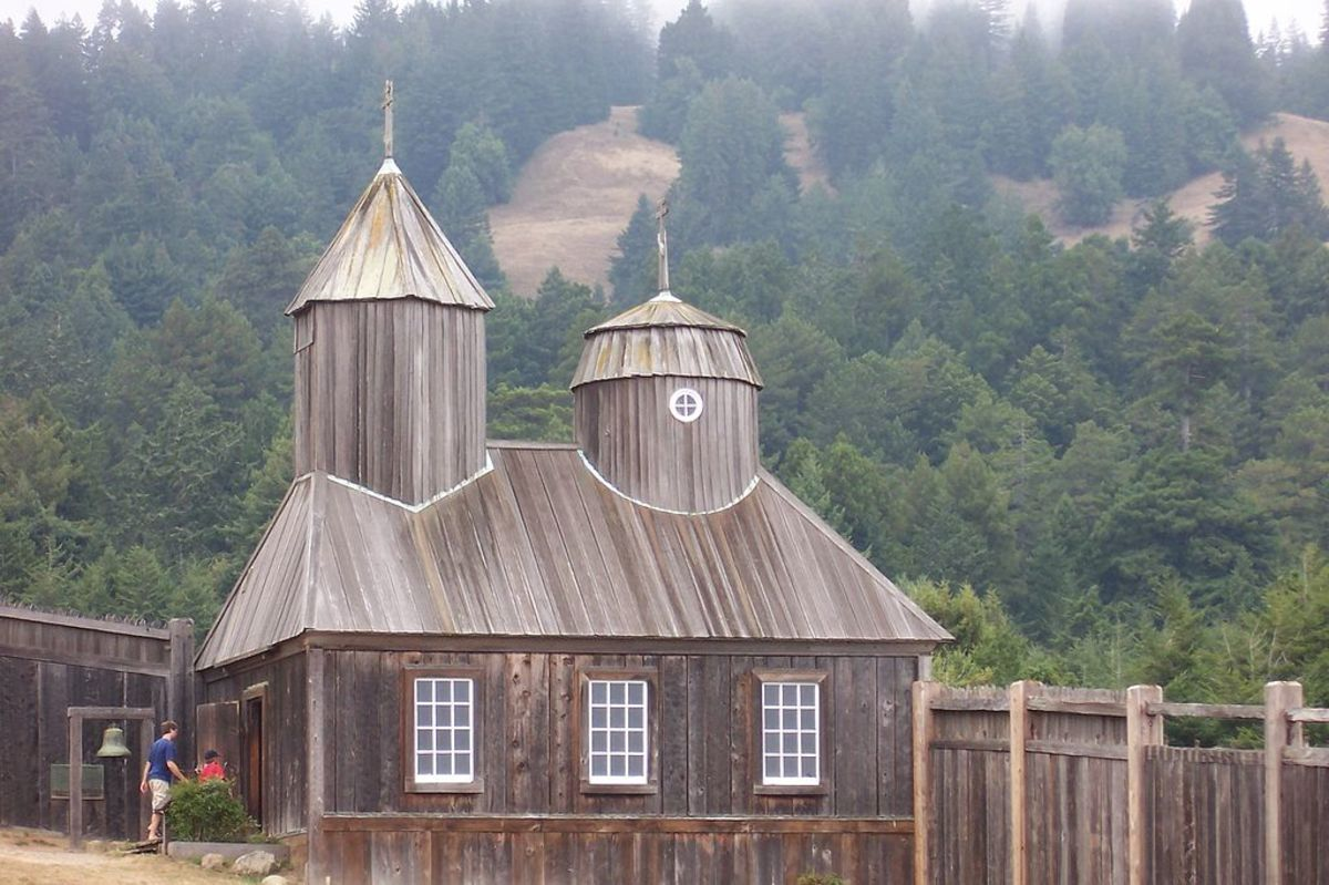 The Fort Ross Chapel