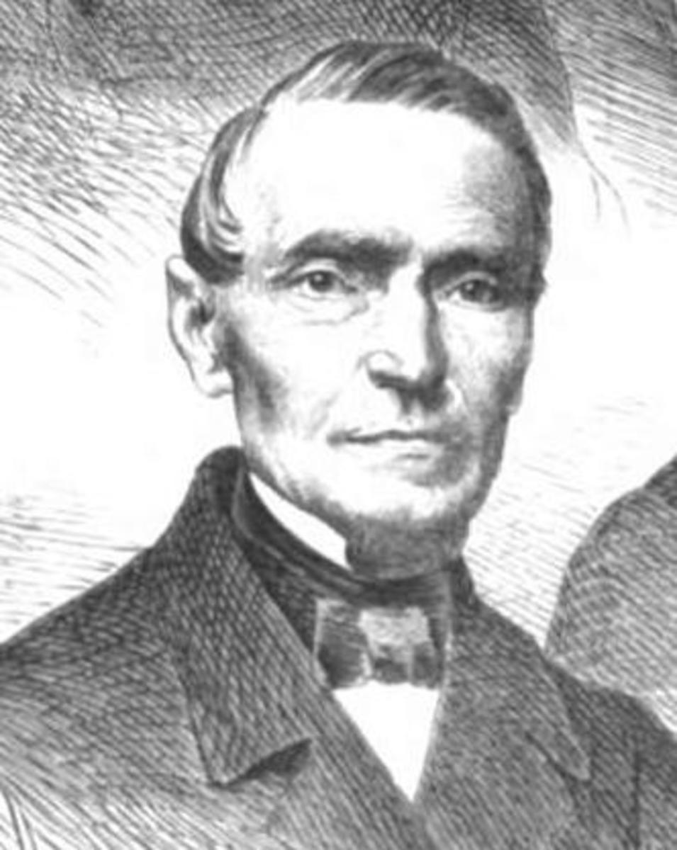 Friedrich Ludwig von Rönne, a German liberal and a proponent of German colonization of California.
