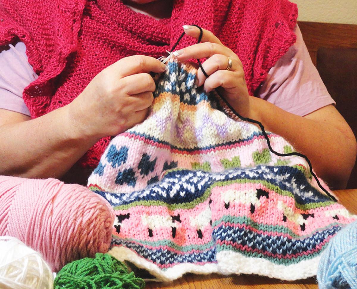 Knitting Fair Isle Pattern