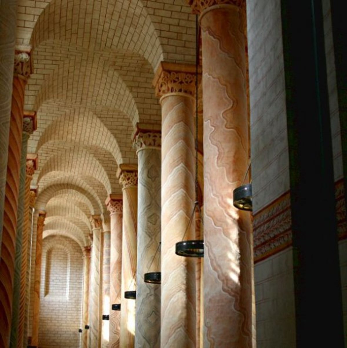 Columns of the nave