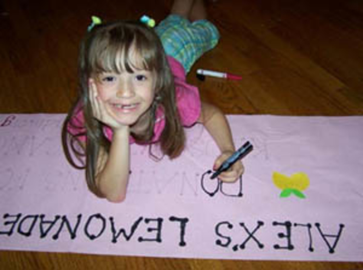 "Alex's Lemonade Stand Foundation is all about children! It was started by 4-year-old Alexandra ""Alex"" Scott who had a dream to find a cure. Thousands of children around the world have joined Alex's quest by holding lemonade stands. Alex's very first"