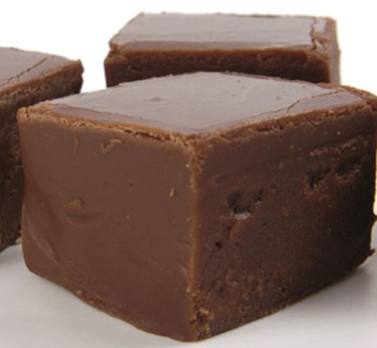 A chocolate fudge