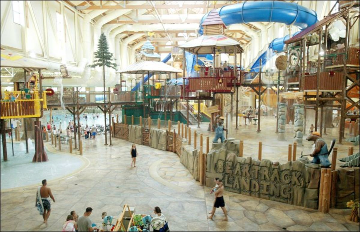 Great wolf lodge - Indoor water park in NC