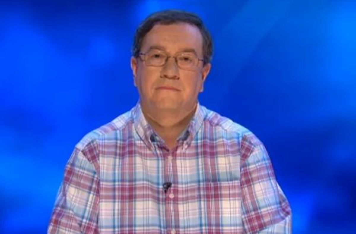 Kevin Ashman of BBC's Eggheads