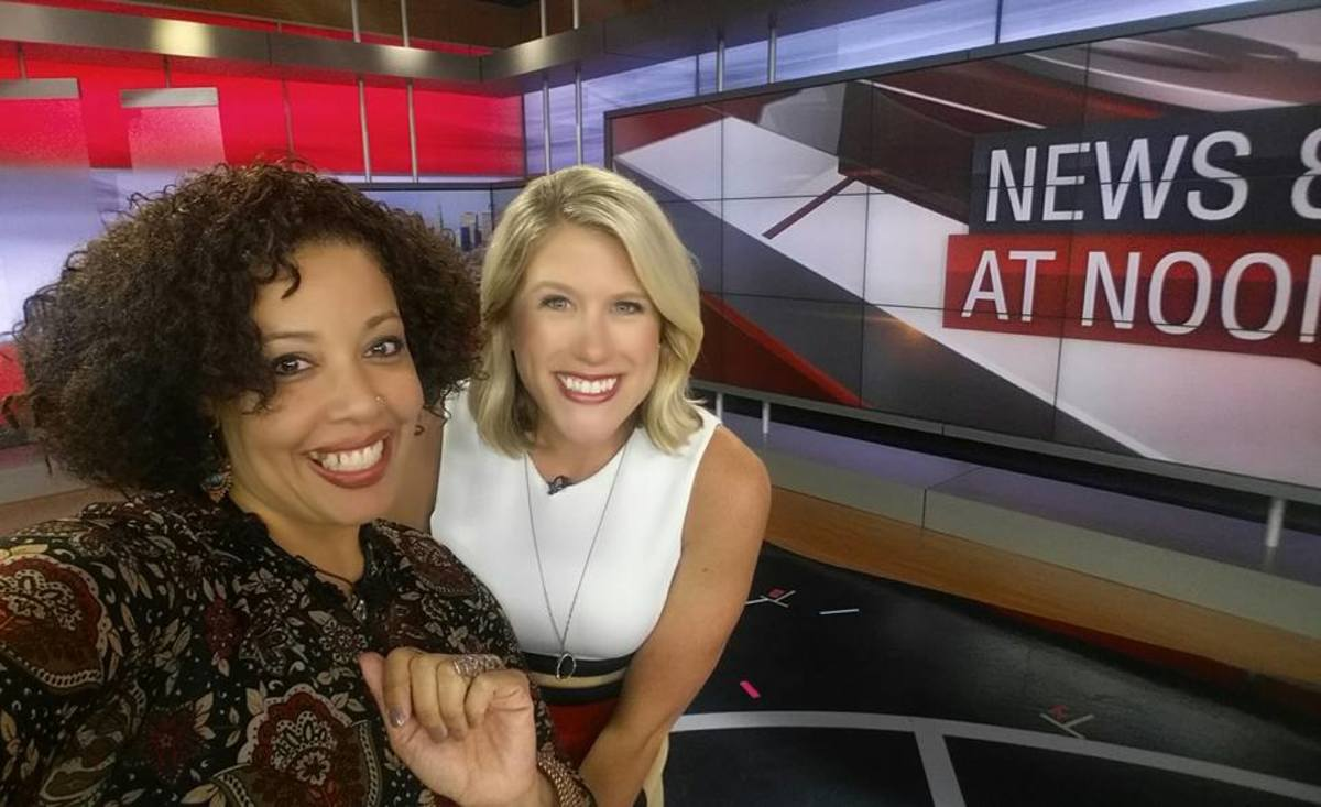 "Reconnected with Laura Hutchinson after the ""Women To Watch"" awards & her time on WWLP-22News."