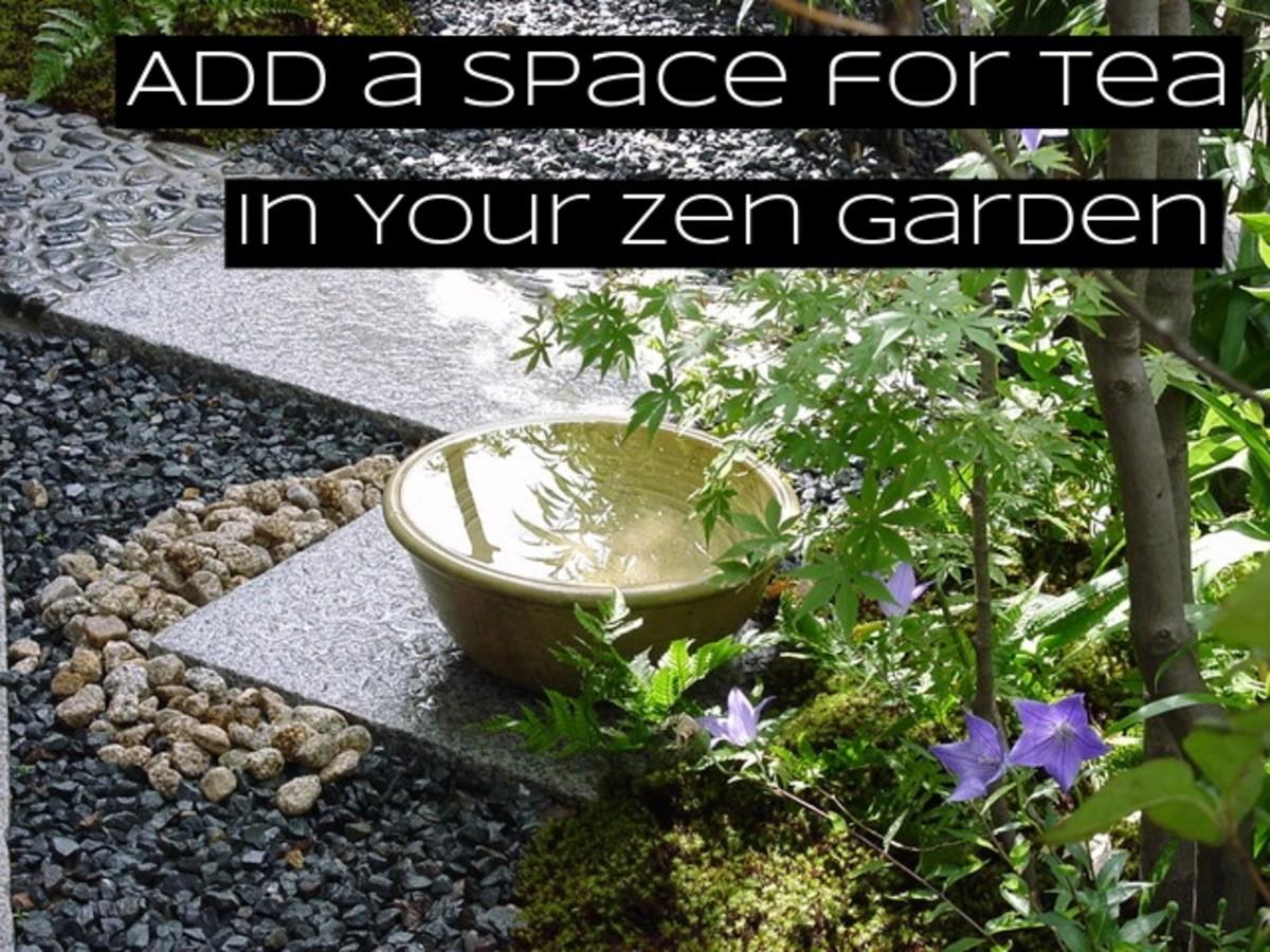 Tea ceremonies took off in Japan around the same time zen gardens became popular.
