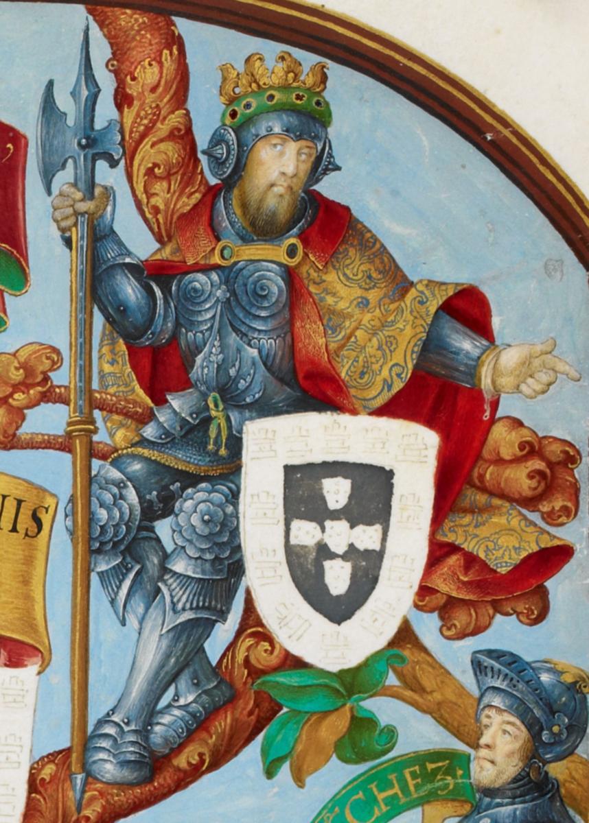 King Alfonso IV.