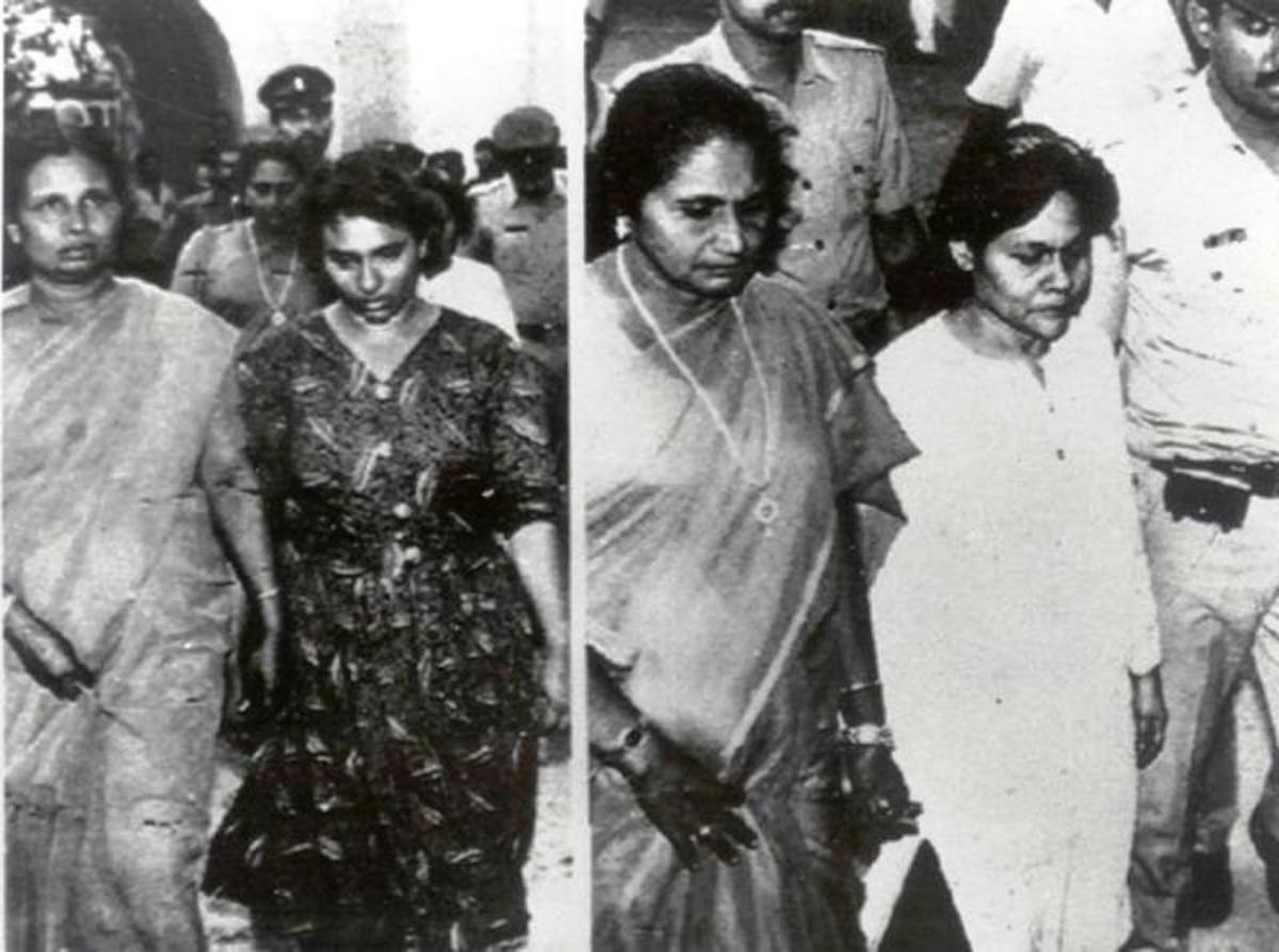 Mariam Rasheeda and Fauzia Hassan