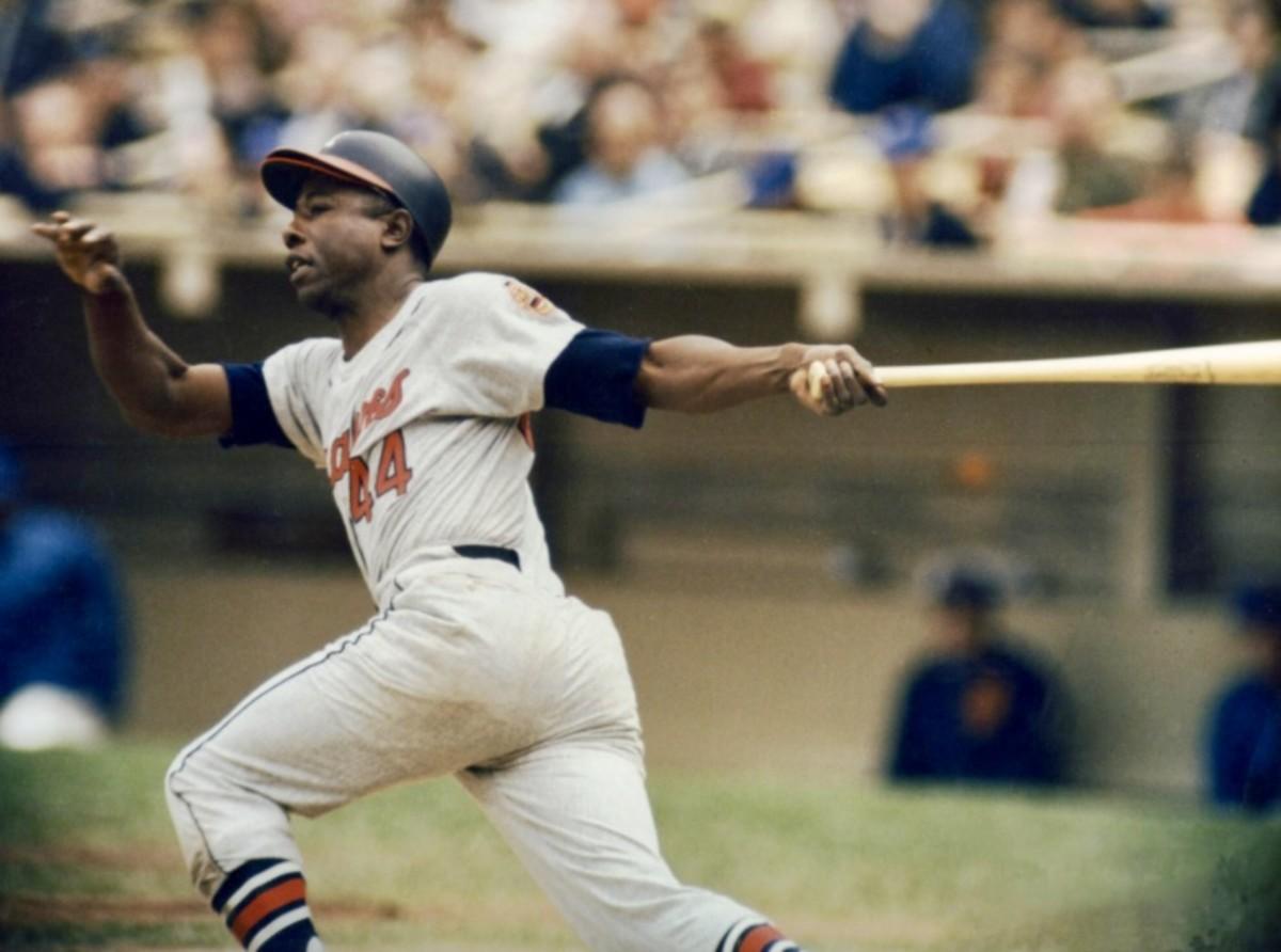 Hammerin' Hank Aaron hit 755 Home Runs in his Hall of Fame Career