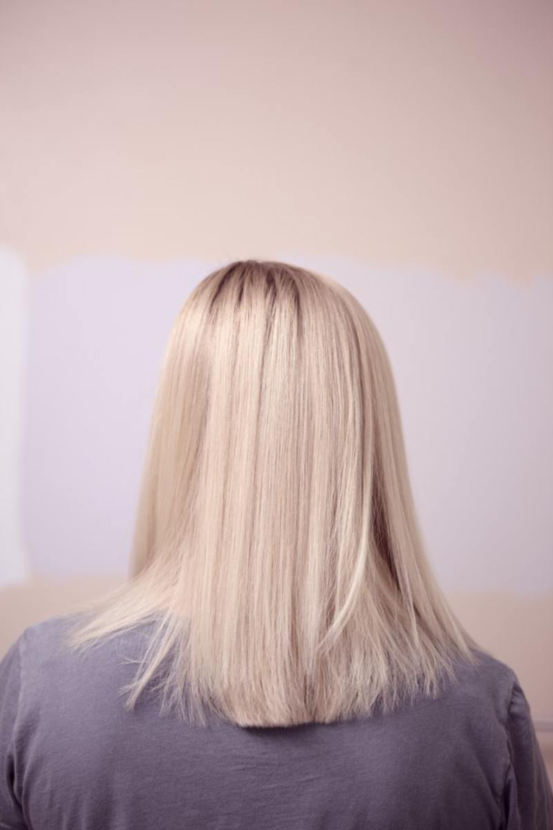 Bleach can drastically lighten your hair and remove unwanted color but it's also damaging.