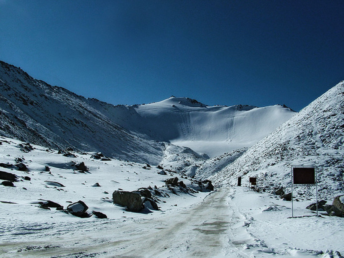 Famous High Mountain Passes in India