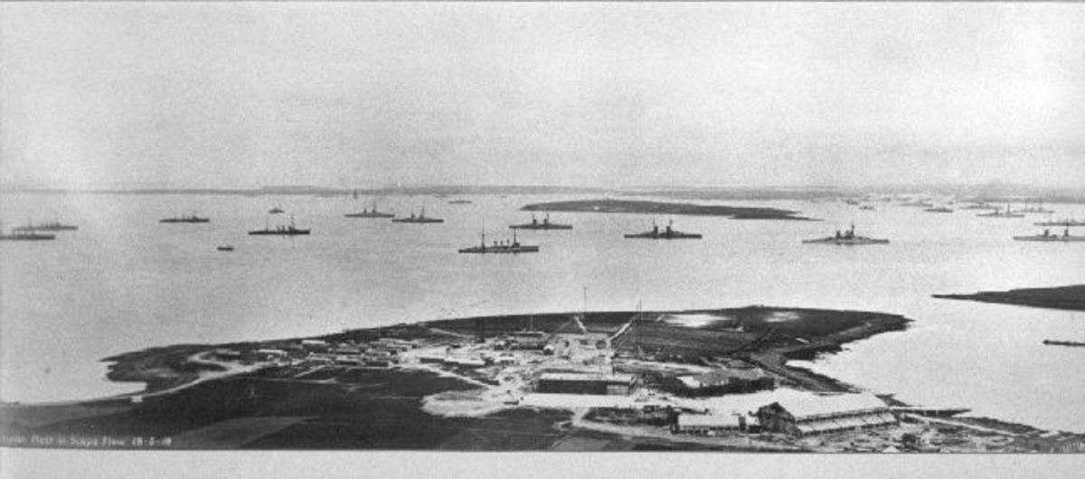 The Royal Navy Base of Scapa Flow and Its Role in World War I