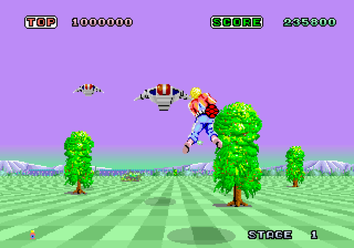 space Harrier: 1985