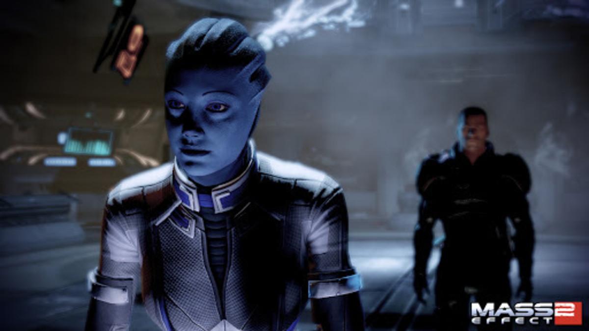 Liara becomes the Shadowbroker.