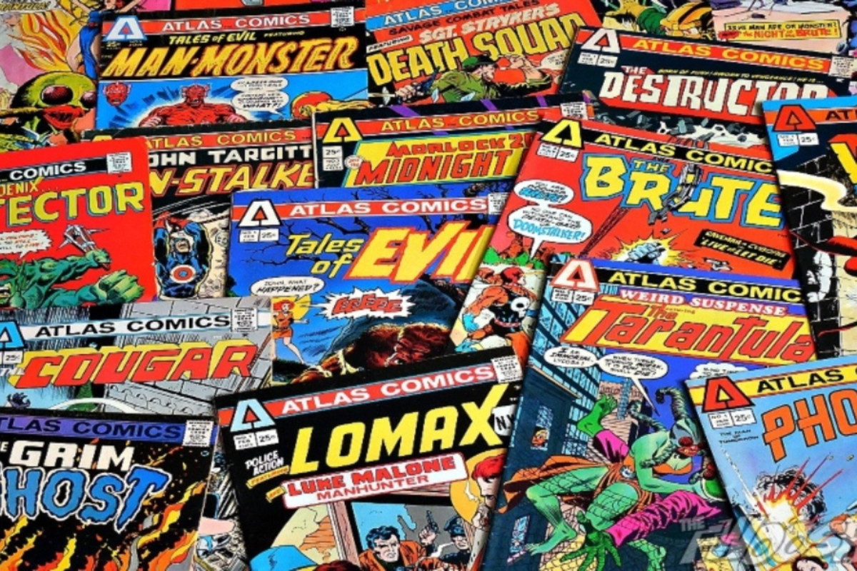In 1951, Atlas Comics—a comic book label that evolved into Marvel Comics—was founded by Martin Goodman in New York City.