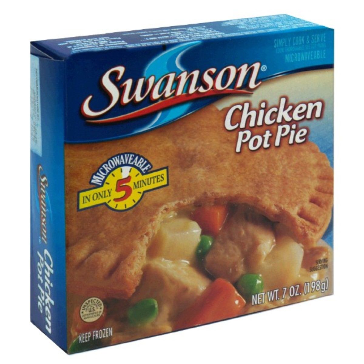 In 1951, Swanson introduced beef, chicken, and turkey pot pies.