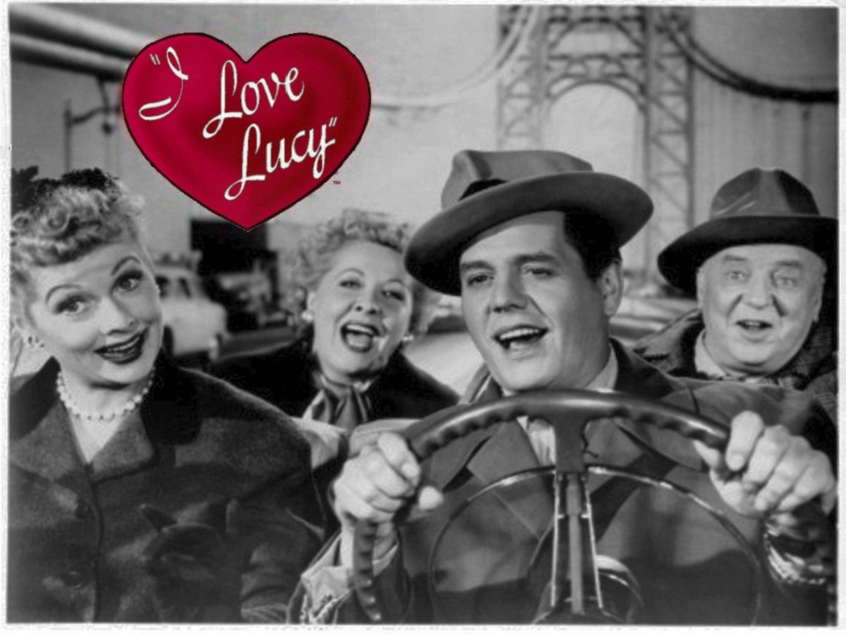 In 1951, I Love Lucy was a popular TV show.