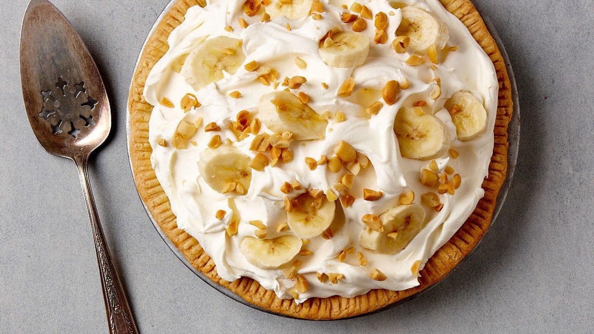 In a survey conducted with the U.S. armed forces in 1951, banana cream pie was voted the favorite dessert.