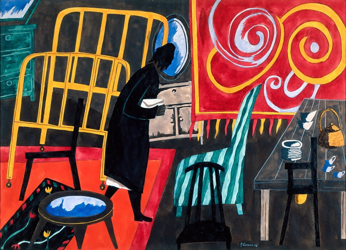The Apartment by Jacob Lawrence