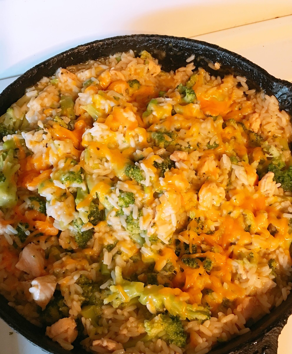 Quick and Easy Chicken Broccoli Casserole