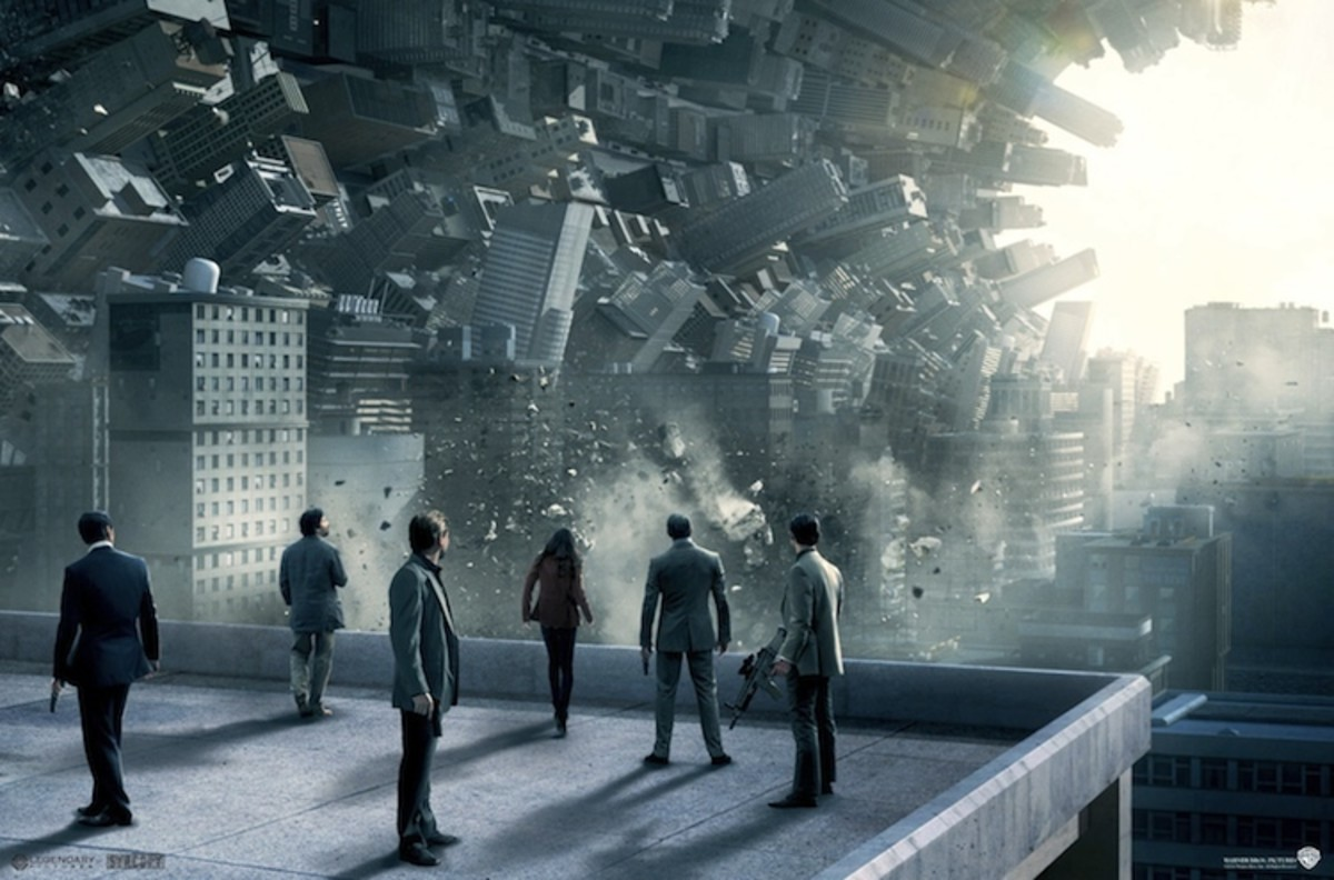 """The stunning visuals of """"Inception""""."""