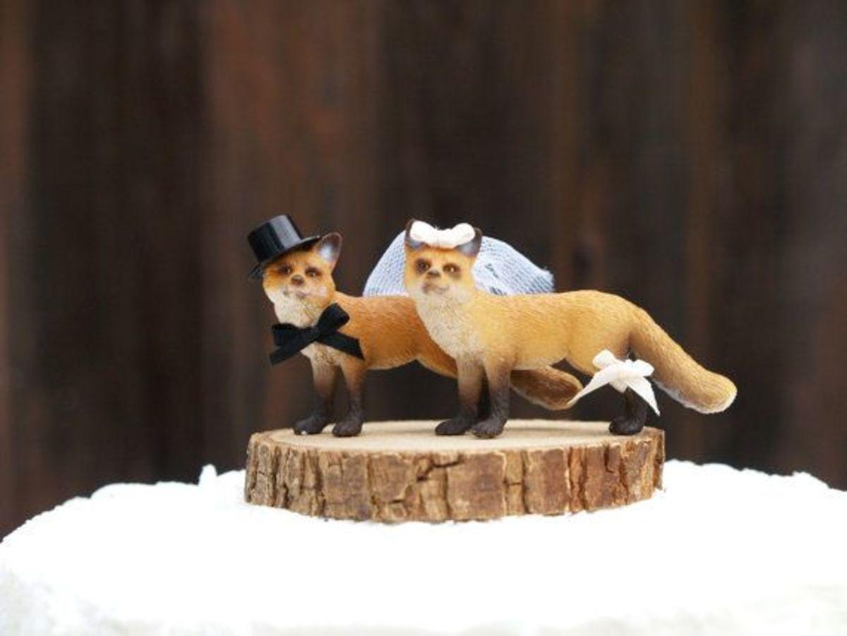 Shleik brand foxes.