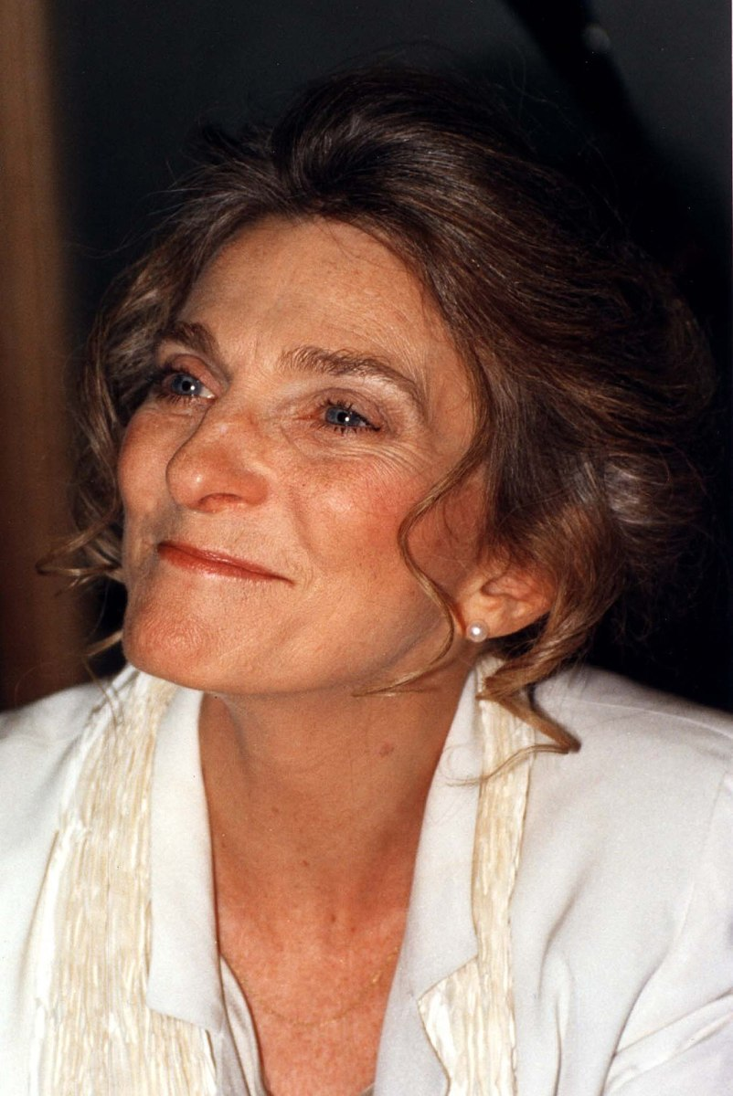 Judy Collins signing books in Washington D.C. in 1995.