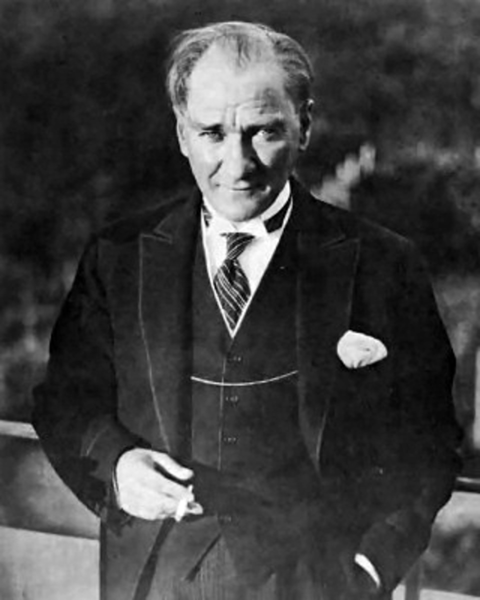 Ataturk - Father of Modern Turkey and a Great Humanitarian